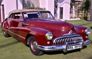 The VINTAGE CARS SHOW starts tomorrow!
