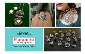 Showcasing CREYONS at Margarita Pop up Show
