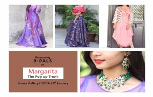 Margarita Pop Up Show | 23rd & 24th January | Anmol Gallery