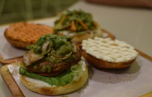 Giant Juicy Burgers with an Indian Twist at this Joint!