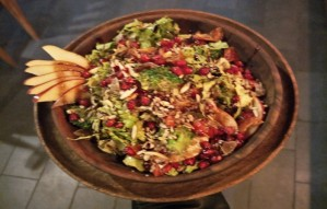 Head to Café Shunya for the detox Vegan Thaali and Salads!