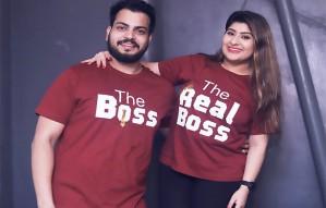 Customised couple n group Tshirts Hoodies by The Tee Shop