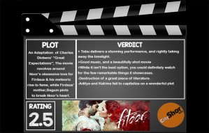 Movie Review - FITOOR