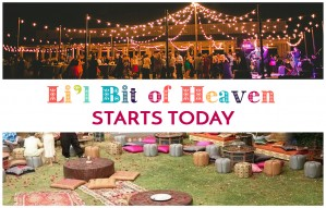 LIL BIT OF HEAVEN starts today!