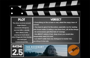 Movie Review - The Revenant