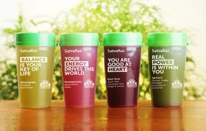 Kickstart a healthy morning with SATVARAS' natural Juices!