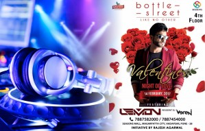 A dreamy Valentine's Day plan at BOTTLE STREET with DJ LEMON
