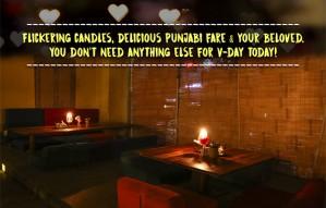 Have a Candle light dinner date @ JASSI DE PARATHE today!