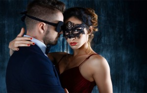 Valentines with masquerade ball- Te Amo