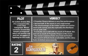 Movie Review: JAI GANGAAJAL