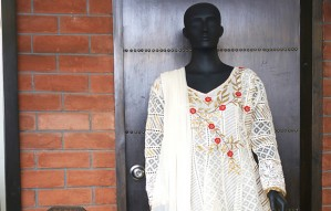 Chikankari Outfits by ALANKRIT at Beyond Gallery