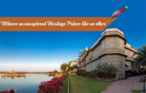 Witness an explored Heritage Palace like no other