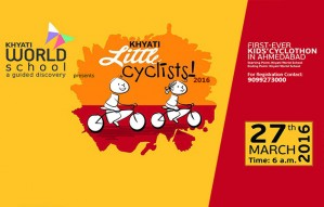 Khyati World School presents the First ever CYCLOTHON for Kids