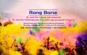 Rang Barse- The memorable fun | Two days to go!