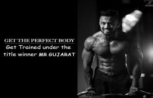 Get the summer perfect body under title winner,Mr Gujarat