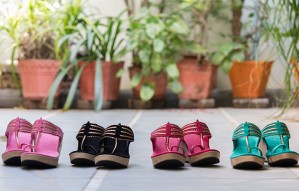 Unique customized ethnic footwear by The Shoe Tales