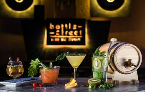 Fire, Drama and Vodka spinning BOTTLE STREET's new menu!