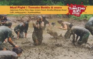 Mud Fight | Tomato Battle | La Tomatina Holi Utsav 2018