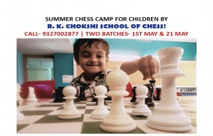 Summer Chess Camp by R K School of Chess!