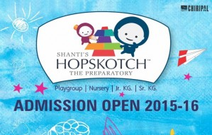 Shanti's Hopskotch - Admissions open for 2015-16