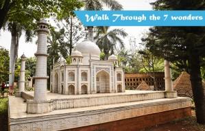 Walk through 7 wonders of the world in Pune