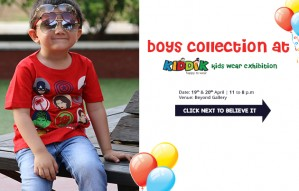 KIDDIK presents Boys' clothing at the BIGGEST KIDS' WEAR EXHIBITION