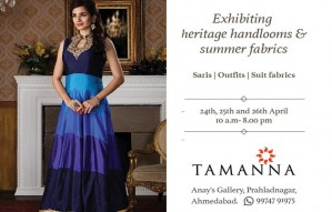 TAMANNA showcases her gorgeous collection at Anay Gallery