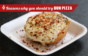 4 Reasons why you should try the BUN PIZZA at CELESTE CIBO