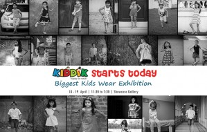 Kiddik - Biggest Kids Wear Exhibition starts today.