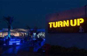 Spend your time with ease at TURN UP CAFE & LOUNGE