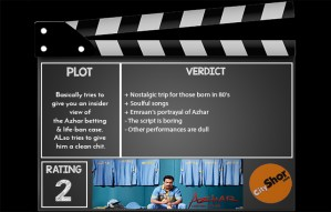 Movie Review - Azhar