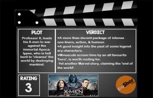 Movie Review - X Men: Apocalypse