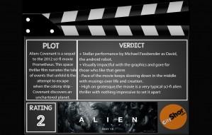 Movie Review: Alien Covenant
