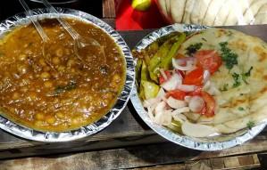 The best street side Chole Kulcha!