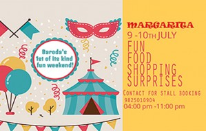Book your space @MARGARITA by Trupti, taking place in Baroda