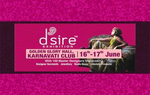 Designer apparels and lifestyle options@ D'sire Exhibition