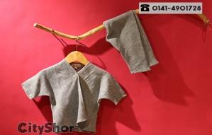 Showcasing eclectic selection children's organic wear