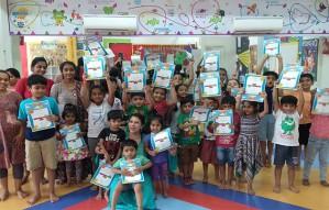 A preschool with Butterfly Garden Joy Jumperz Enroll Now