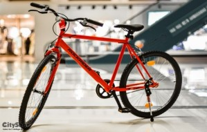 Bicycles and Gym Equipments available at Decathlon.
