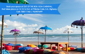 Book your space at OUT OF THE BOX: Goa Carnival