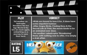 Movie Review - Ice Age: Collision Course
