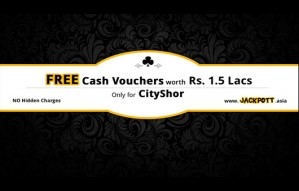 FREE Cash Vouchers worth Rs 1.5 lac & much more w/ JACKPOTT