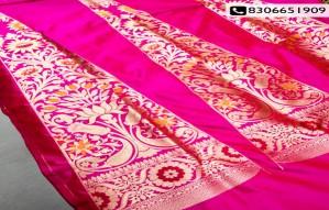 Starting Today Banarasi Saree at flat 35% discount@Fabraws!