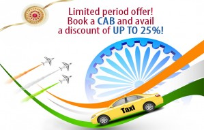 Limited time offer, Book a cab with up to 25% off@Sirf Taxi