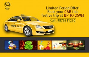 Limited Time Offer | Book a cab @ Sirf Taxi at up to 25% off