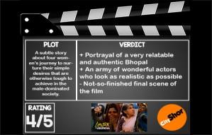 #Movie Review: Lipstick under My Burkha