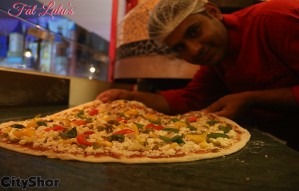 Participate in the BIGGEST PIZZA EATING COMPETITION Ever!!