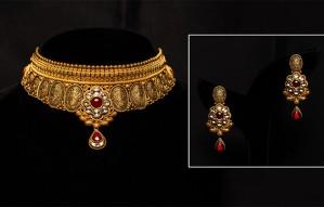 Best of Occasional & Festive Gold Jewellery @ D B Zaveri!