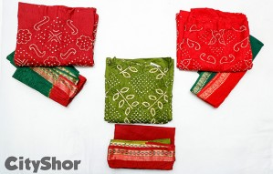 Exceptional collection of Sarees & more at SANKALP Bandhej