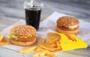 Indian Burger meals starting at ₹100, only at JumboKing